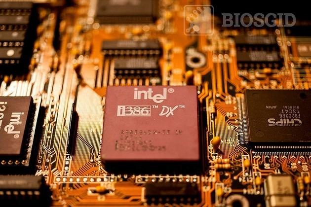 Фото процессора i80386