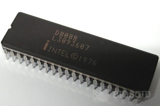 Фото микропроцессора i8088