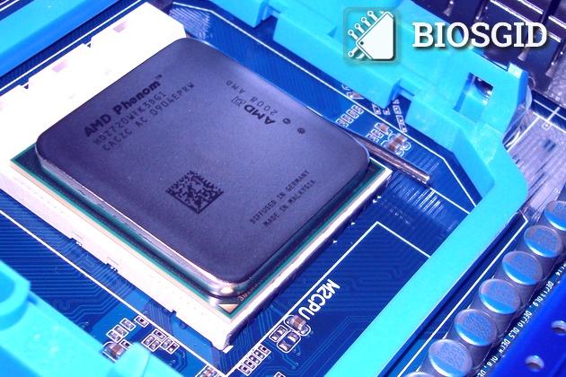 AMD Phenom в сокете