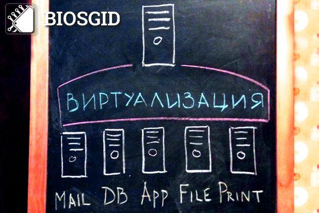 Аппаратная виртуализация в БИОС