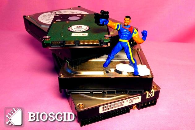 BIOS не видит HDD