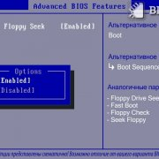 Boot Up Floppy Seek