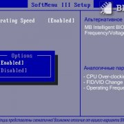 CPU Operating Speed